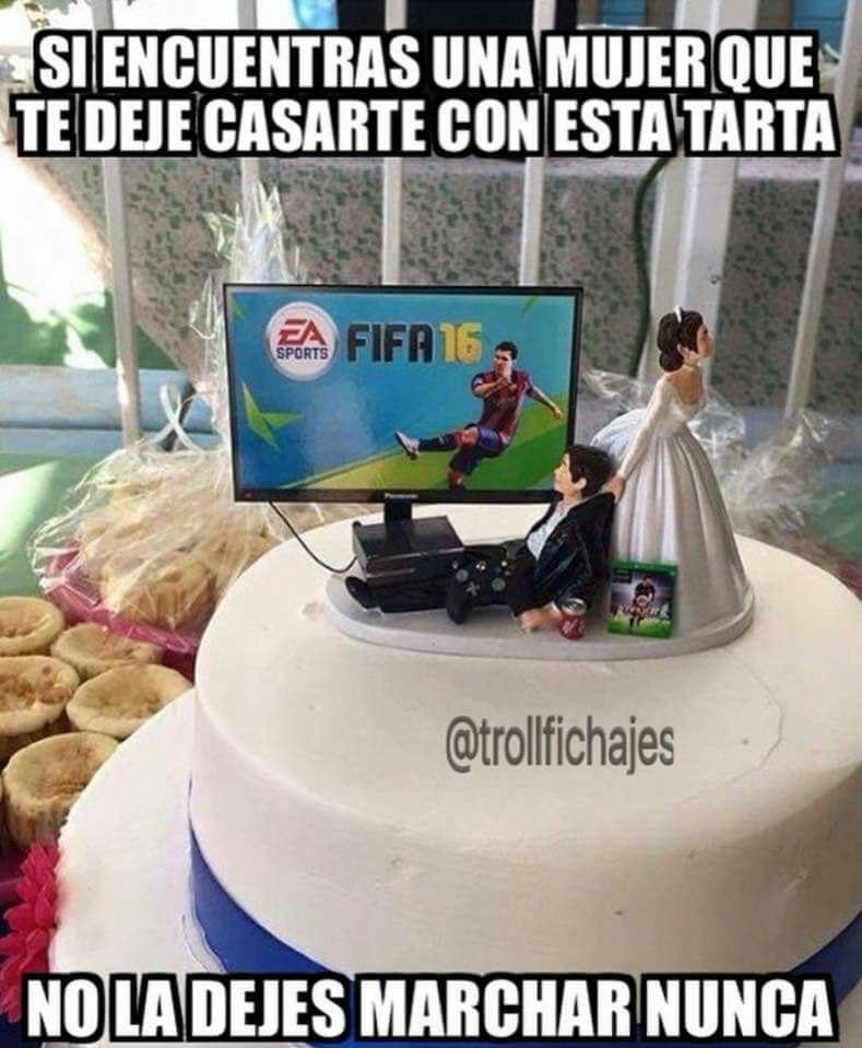 tarta boda fifa