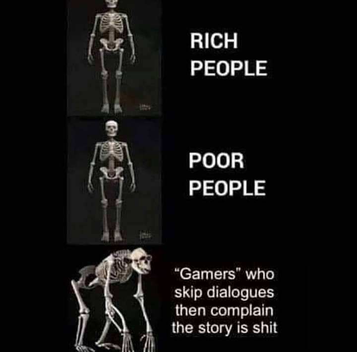 La involución gamer o historia con poca chicha.