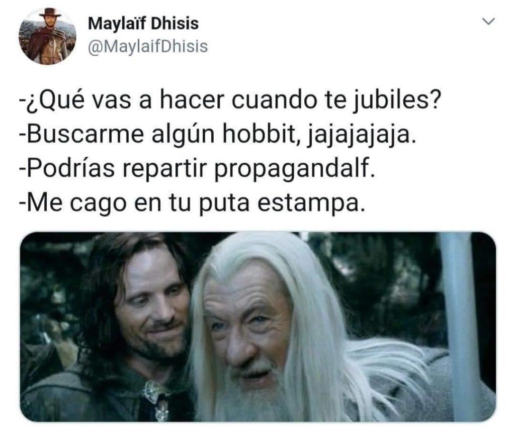 Habrá que buscar algún hobbit...